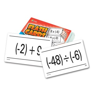 TFC-FLASH CARDS - INTEGERS 55P