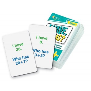 TFC-I HAVE WHO HAS?- BASIC OPS - ADDITION 36P