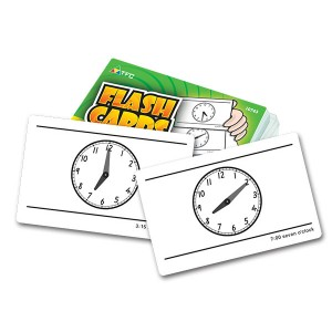 TFC-FLASH CARDS - TELLING TIME 55P