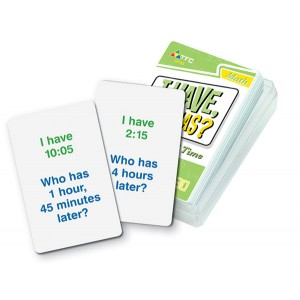 TFC-I HAVE, WHO HAS? - ELAPSED TIME 36P