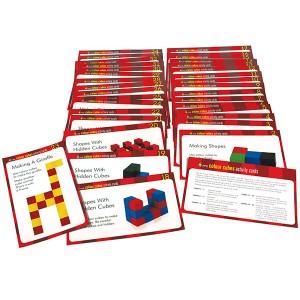 TFC-COLOUR CUBES ACTIVITY CARDS 34P