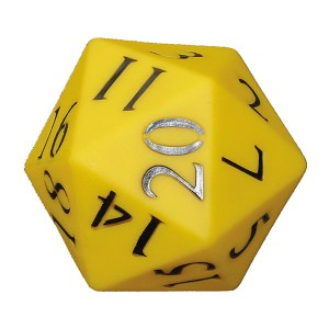 TFC-DICE 110MM 20 FACE NUMBER PVC 1P