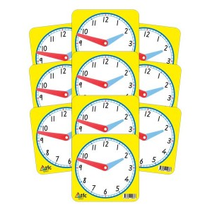 TFC-CLOCK 12HR STUDENT 10P