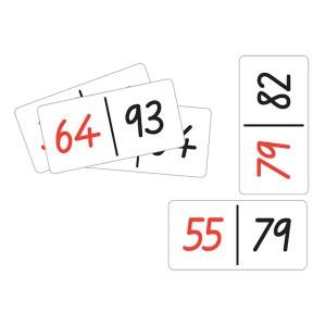 TFC-DOMINOES NUMBER PAIRS 28P