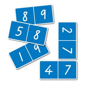 TFC-DOMINOES 9 X 9 NUMBERS 55P