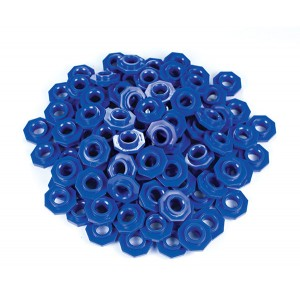TFC-PLACE VALUE ABACUS BEADS - BLUE 100P