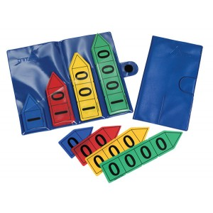 TFC-PLACE VALUE ARROWS STORAGE WALLET 1P