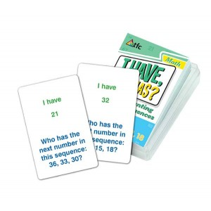 TFC-I HAVE WHO HAS?-COUNTING SEQUENCES - SET 2 36P