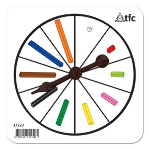 TFC-SPINNER COLOURED RODS 1P