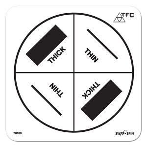 TFC-SWAP + SPIN INSERT ATTRIBUTE THICK/THIN 1P