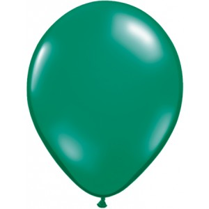 11 INCH LATEX JEWEL EMERALD GREEN 100CTP