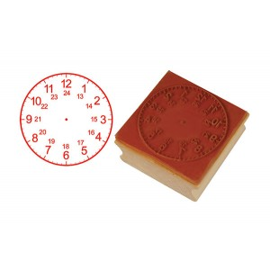 TFC-STAMP CLOCK 24 HOURS (50MM) 1P
