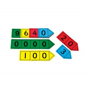 TFC-PLACE VALUE ARROWS MAGNETIC 40P