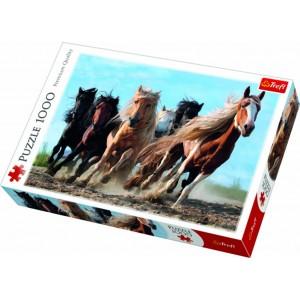 TREFL-1000 PC PUZZLE GALLOPING HORSES