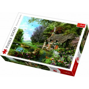 TREFL-1000 PC PUZZLE CHARMING NOOK