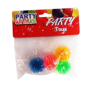 PARTY FAVOUR PORCUPINE BALL 4CT