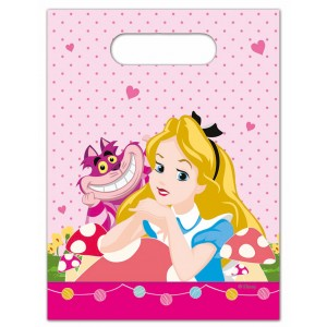 ALICE IN WONDERLAND-PARTY BAGS 6CT