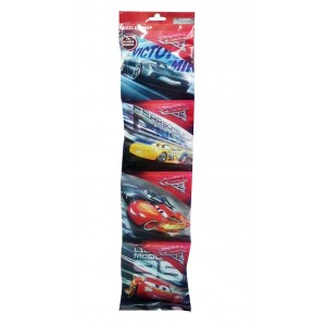 MINI PUZZLE 4X54PC IN FOIL BAG CARS