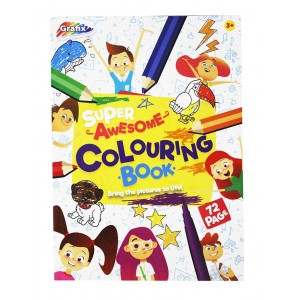 KIDS PAPER-COLOURING BOOK 72 SHEET