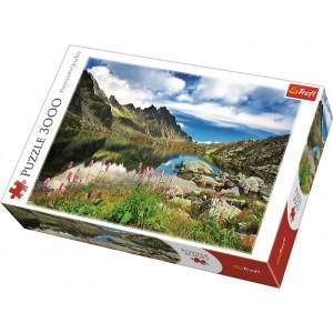 TREFL-3000 PC PUZZLE POND IN TATRAS MOUNTAINS SLO