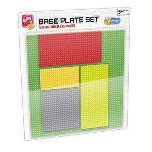 BLOCK TECH-5 IN 1 BASE PLATE SET