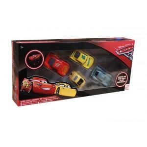 3D ERASER FIGURE 4PK-CARS