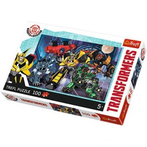 TREFL-100 PC PUZZLE TRANSFORMERS AUTOBOTS TEAM