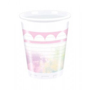 BELIEVE IN UNICORN-PLASTIC CUPS 200ML 8CT