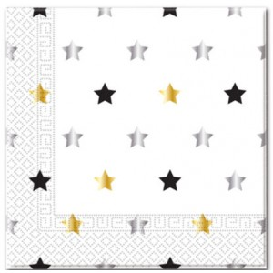 MILESTONE STARS  TWO PLY PAPER NAPKINS 20CT