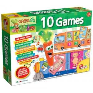 CAROTINA LABORATORY 10 GAMES