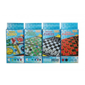 MAGNETIC BOARD GAMES ASST