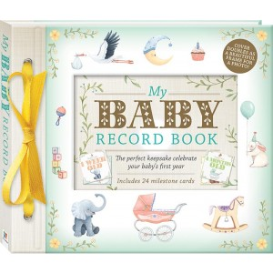 MY BABY RECORD BOOK DELUXE