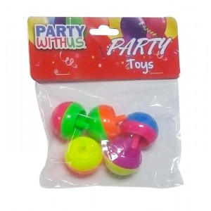 PARTY FAVOUR APPLE SPINNING TOP 5CT