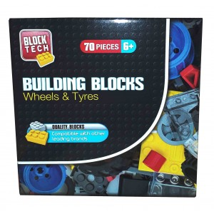 BLOCK TECH-WHEELS AND TYRES 70CT