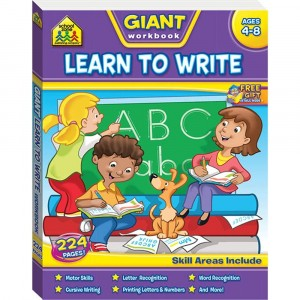 WORKBOOKS-LEARNING TO WRITE - WORKBOOKS