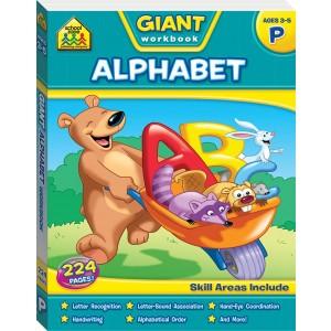 WORKBOOKS-GIANT ALPHABET