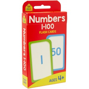 FLASH CARDS-NUMBERS 1-100