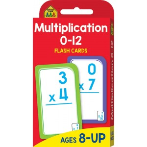 FLASH CARDS-MULTIPLICATION 0-12