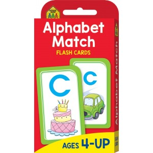 FLASH CARDS-ALPHABET MATCH