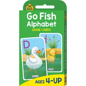 FLASH CARDS-GO FISH ALPHABET
