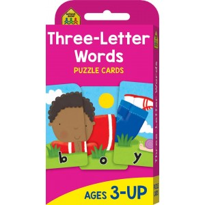 FLASH CARDS-THREE LETTER WORDS