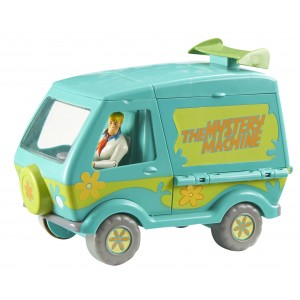 SCOOBY DOO MYSTERY MACHINE WITH FRED FIGURE