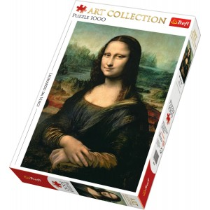 TREFL-1000 PC PUZZLE ART COLLECTION MONA LISA