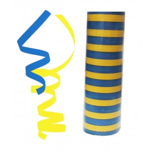 STREAMER(2COLORS MIXED BLUE AND YELLOW)1CTP