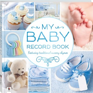 MY BABY RECORD BOOK BLUE