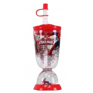 SPIDER-MAN SECRET ID BASE DOME TUMBLER