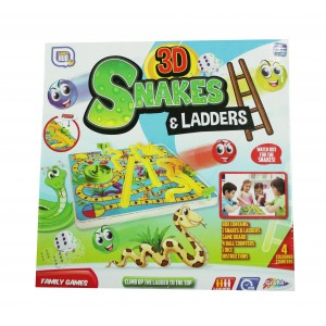 GAMES HUB-3D SNAKES AND LADDERS