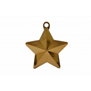 BALLOON WEIGHT STAR ORANGE 28G 1CTP