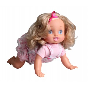 BABY EMMA 40CM CRAWLING DOLL WITH SOUNDS