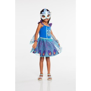 ENCHANTIMALS PATTER PEACOCK DRESS UP AGE 3 4 1CT